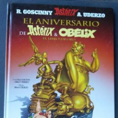 Cómics: EL ANIVERSARIO DE ASTERIX Y OBELIX EL LIBRO DE ORO. EDITORIAL SALVAT. Lote 207037807