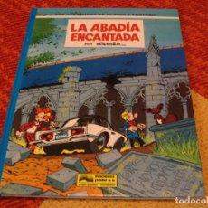 Cómics: SPIROU Y FANTASIO LA ABADÍA ENCANTADA FOURNIER EDICIONES JUNIOR 1994 TAPA DURA. Lote 207083417
