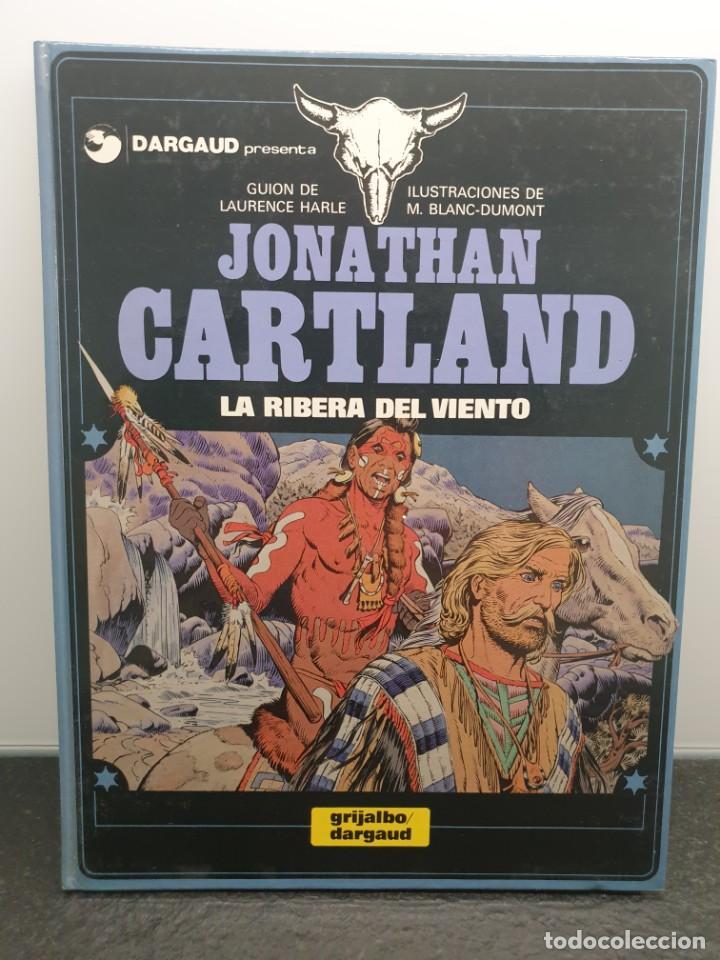 CÓMIC JONATHAN CARTLAND, LA RIBERA DEL VIENTO. DARGAUD / GRIJALBO. LAURENCE HARLE Y M. BLANC-DUMONT (Tebeos y Comics - Grijalbo - Otros)
