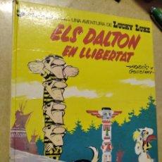 Cómics: LUCKY LUKE. ELS DALTON EN LLIBERTAT. GRIJALDO.. Lote 207166751