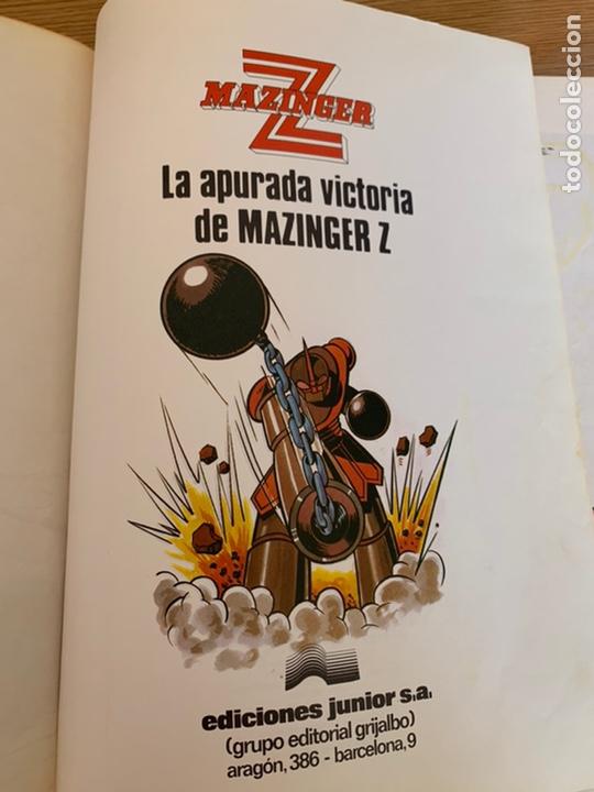 Cómics: LA APURADA VICTORIA DE MAZINGER Z¨ - Foto 2 - 207278572