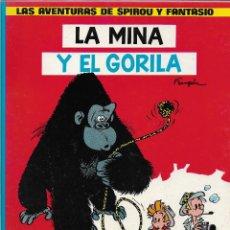 Cómics: LAS AVENTURAS DE SPIROU Y FANTASIO. LA MINA Y EL GORILA. ANDRÉ FRANQUIN. CÓMIC.. Lote 207295505