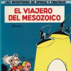 Cómics: LAS AVENTURAS DE SPIROU Y FANTASIO. EL VIAJERO DEL MESOZOICO. ANDRÉ FRANQUIN. CÓMIC.. Lote 207295615