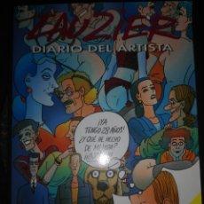 Cómics: DIARIO DEL ARTISTA LAUZIER GRIJALBO. Lote 207422562