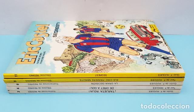 LOTE 5 COMICS TAPA DURA ERIC CASTEL, GRIJALBO, RAYMOND REDING Y FRANÇOISE HUGUES, VER DESCRIPCION (Tebeos y Comics - Grijalbo - Eric Castel)