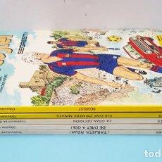 Comics: LOTE 5 COMICS TAPA DURA ERIC CASTEL, GRIJALBO, RAYMOND REDING Y FRANÇOISE HUGUES, VER DESCRIPCION. Lote 207657725