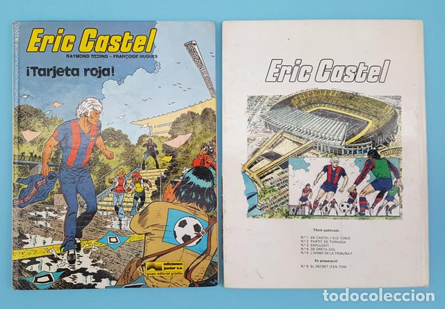 Cómics: LOTE 5 COMICS TAPA DURA ERIC CASTEL, GRIJALBO, RAYMOND REDING Y FRANÇOISE HUGUES, VER DESCRIPCION - Foto 4 - 207657725