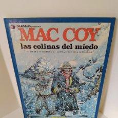 Cómics: MAC COY. LAS COLINAS DEL MIEDO. GUIÓN DE J.P. GOURMELEN - ILUSTRACIONES DE A.H. PALACIOS. 1987.. Lote 207835078