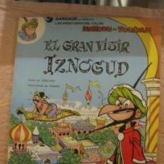 Cómics: LAS AVENTURAS DEL CALIFA HAROUN EL POUSSAH. EL GRAN VISIR IZNOGUD.GOSCINNY -TABARY. GRIJALBO/DARGAUD. Lote 208016576