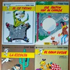 Cómics: LUCKY LUKE 03, 18- EL GRAN DUQUE, LA ESCOLTA - ED GRIJALBO AÑOS 70 - TB SUELTOS. Lote 208041388
