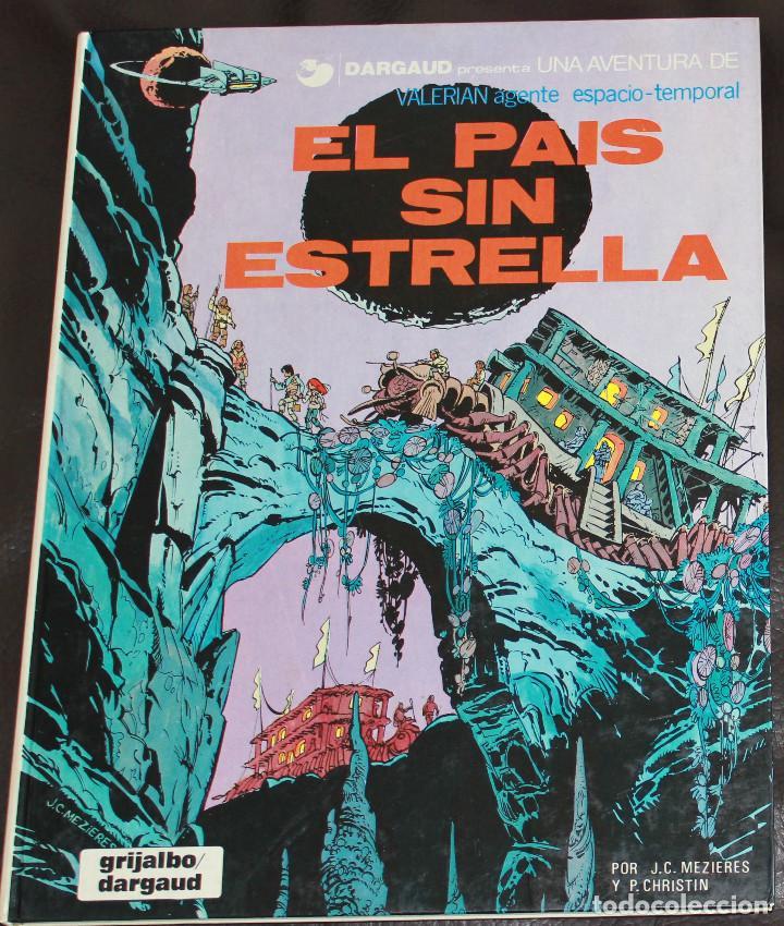 VALERIAN AGENTE ESPACIO-TEMPORAL - ÁLBUM Nº 2 - EL PAÍS SIN ESTRELLA - GRIJALBO-DARGAUD (Tebeos y Comics - Grijalbo - Valerian)