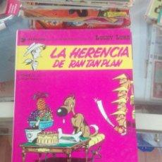 Cómics: UCKY LUKE. Nº 6. LA HERENCIA DE RAN TAN PLAN. GRIJALBO. Lote 208100657