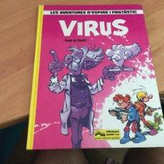 Cómics: LES AVENTURES D'ESPIRU I FANTASTIC ESPIRU Nº 19 VIRUS 1989 PRIMERA EDICION JUNIOR GRIJALBO (COIB66). Lote 208417361