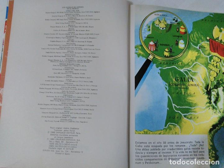 Cómics: Comic Astérix Gladiador. 1.980. Tapa dura. - Foto 6 - 208839140