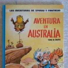 Cómics: LAS AVENTURAS DE SPIROU Y FANTASIO. EL DESPERTAR DE Z + AVENTURA EN AUSTRALIA.. Lote 208877882