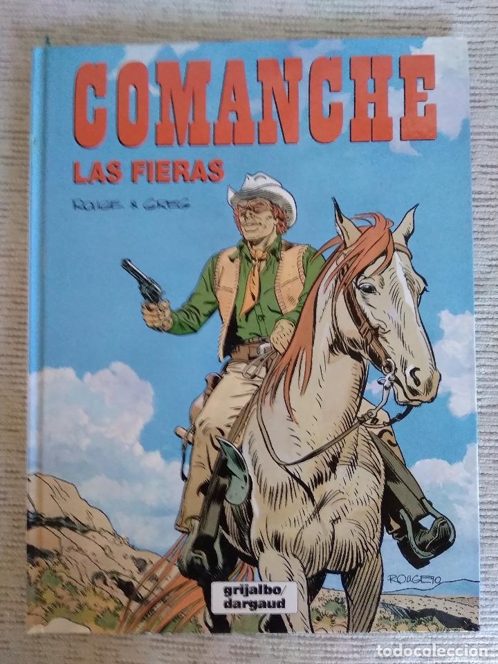 COMANCHE. LAS FIERAS. GRIJALBO. CARTONÉ (Tebeos y Comics - Grijalbo - Comanche)