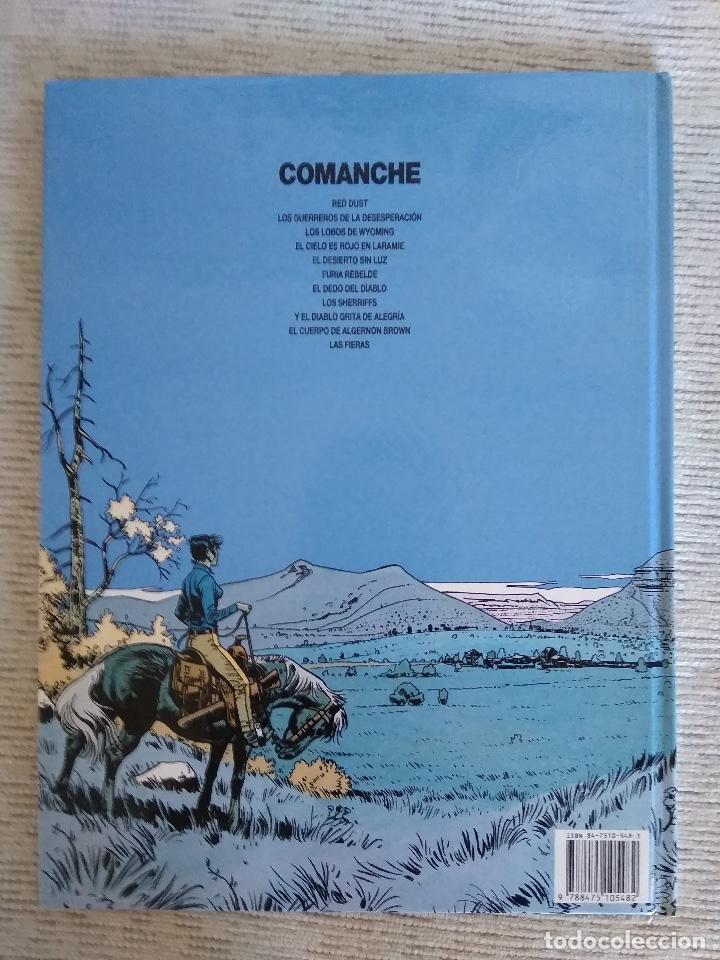 Cómics: COMANCHE. LAS FIERAS. GRIJALBO. CARTONÉ - Foto 2 - 208879930