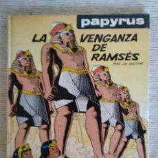 Cómics: PAPYRUS. LA VENGANZA DE RAMSES. GRIJALBO. CARTONÉ. Lote 208882686