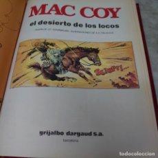 Cómics: ANTOLOGÍA MC COY LIBRO GRANDE TAPA DURA 5 HISTORIAS GRIJALVO PRPM 20. Lote 208977718