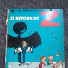 Cómics: LES AVENTURES D'ESPIRU I FANTASTIC 18 - EL RETORN DE Z - JAIMES LIBROS - D17. Lote 208993628