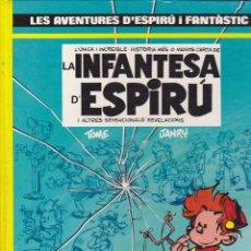 Cómics: COMIC COL.LECIO LES AVENTURES D'ESPIRU I FANTASTIC LA INFANTESA D'ESPIRU. Lote 209092068