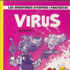 Cómics: COMIC COL.LECIO LES AVENTURES D'ESPIRU I FANTASTIC VIRUS. Lote 209092197