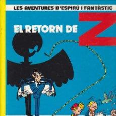 Cómics: COMIC COL.LECIO LES AVENTURES D'ESPIRU I FANTASTIC EL RETORN DE Z. Lote 209092318