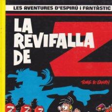 Cómics: COMIC COL.LECIO LES AVENTURES D'ESPIRU I FANTASTIC LA REVIFALLA DE Z. Lote 209092355