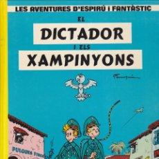 Cómics: COMIC COL.LECIO LES AVENTURES D'ESPIRU I FANTASTIC EL DICTADOR I ELS XAMPINYONS. Lote 209092435