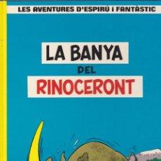 Cómics: COMIC COL.LECIO LES AVENTURES D'ESPIRU I FANTASTIC LA BANYA DEL RINOCERONT. Lote 209092513