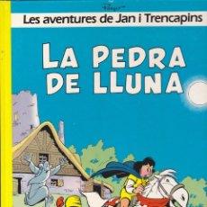 Cómics: COMIC COL.LECIO LES AVENTURES DE JAN I TRENCAPINS LA PEDRA DE LLUNA. Lote 209092576