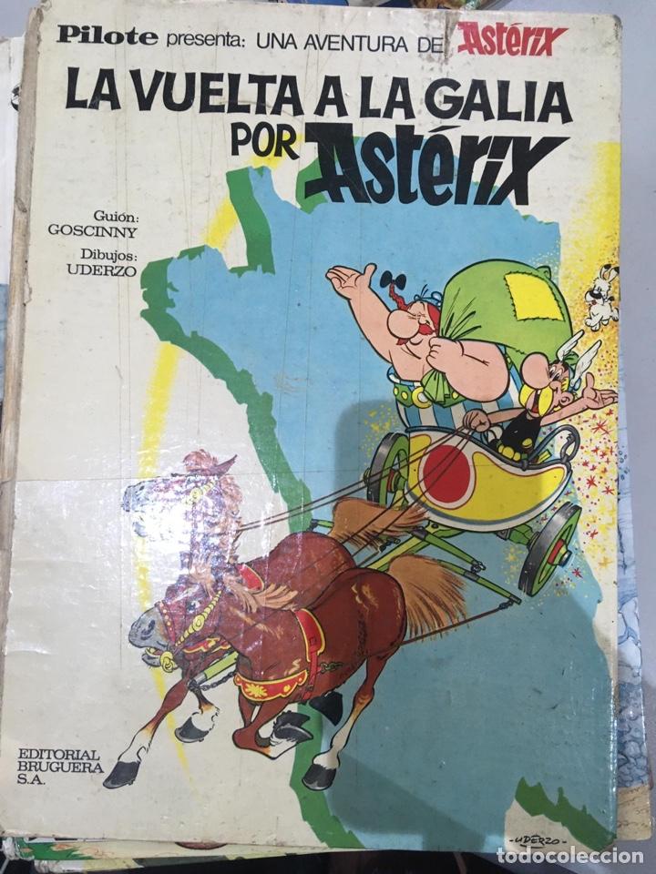 Cómics: Lote Asterix 15 LIBROS CÓMICS AÑOS 1970 - Foto 6 - 209106158