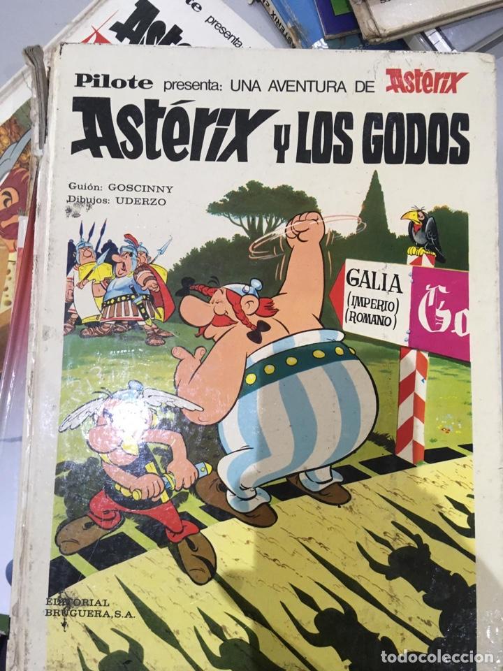 Cómics: Lote Asterix 15 LIBROS CÓMICS AÑOS 1970 - Foto 8 - 209106158