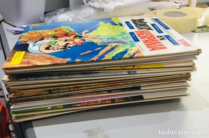 LOTE ASTERIX 15 LIBROS CÓMICS AÑOS 1970 (Tebeos y Comics - Grijalbo - Asterix)