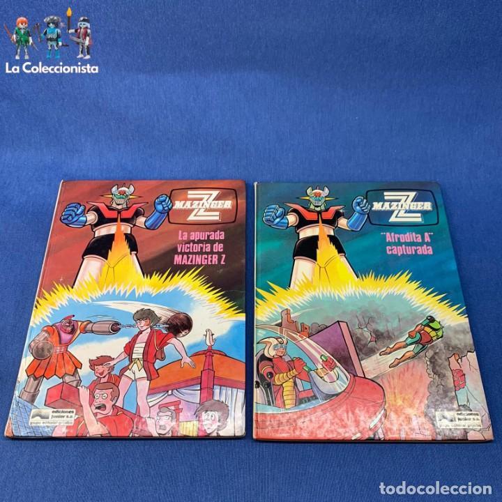 LOTE DOS LIBROS MAZINGER Z Nº 3 Y Nº 4 - LA APURADA VICTORIA DE MAZINGER Z + AFRODITA A CAPTURADA (Tebeos y Comics - Grijalbo - Otros)