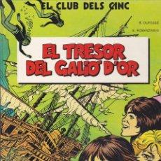 Cómics: COLECCION COMPLETA 4 TOMOS EL CLUB DELS CINC EDICIONES JUNIOR GRIJALBO Nº 1 TAPA DURA RESTO CARTONE. Lote 209236897