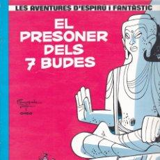Comics: COMIC COLECCIO LES AVENTURES D'ESPIRU I FANTASTIC CARTONE EL PRESONER DEL 7 BUDES. Lote 209237067