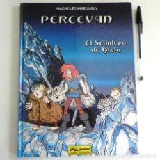 Cómics: PERCEVAN 2 EL SEPULCRO DE HIELO - CÓMIC JUNIOR GRIJALBO FAUCHE LETURGIE LUGUY - TAPA DURA - AVENTURA. Lote 209273520