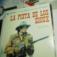 Cómics: LA PISTA DE LOS SIOUX. TENIENTE BLUEBERRY. GRIJALBO 1982 TAPA DURA (BUEN ESTADO). Lote 209292161