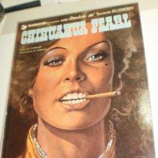 Cómics: CHIHUAHUA PEARL. TENIENTE BLUEBERRY. GRIJALBO 1980 TAPA DURA (BUEN ESTADO). Lote 209292677