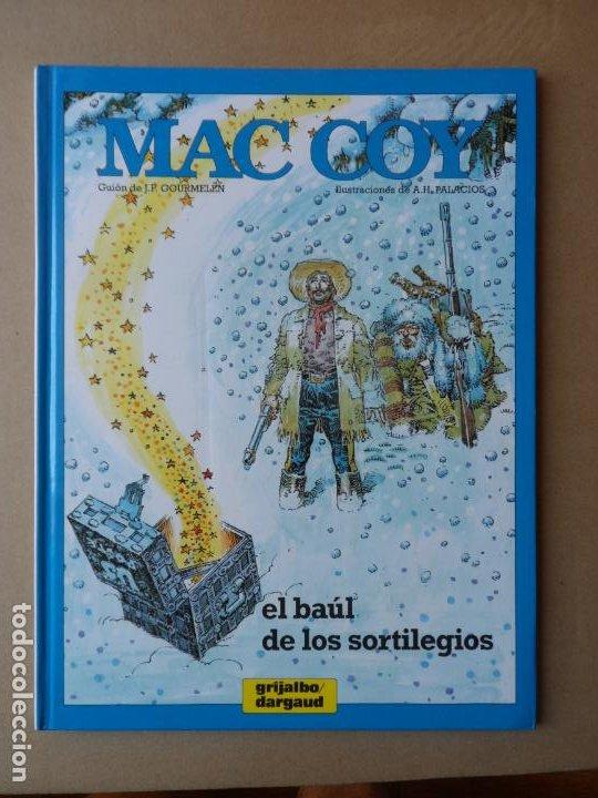 MAC COY Nº 18 EL BAUL DE LOS SORTILEGIOS GOURMELEN Y PALACIOS - EDITORIAL GRIJALBO DARGAUD TAPA DURA (Tebeos y Comics - Grijalbo - Mac Coy)