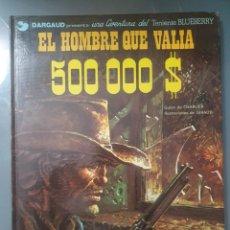 Cómics: EL HOMBRE QUE VALIA 500000 $ TAPA DURA. Lote 209385071