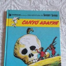 Comics: UNA AVENTURA DE LUCKY LUKE - CANYO APATXE N. 17- CATALA. Lote 209588516