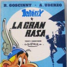 Comics: ASTERIX - LA GRAN RASA - TAPA DURA - COMIC EN CATALAN. Lote 209674088