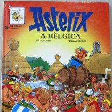 Fumetti: ASTERIX - A BELGICA - TAPA DURA - COMIC EN CATALAN. Lote 209674185