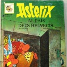 Fumetti: ASTERIX - AL PAIS DELS HELVECIS - TAPA DURA - COMIC EN CATALAN. Lote 209675105