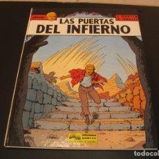 Cómics: LEFRANC Nº 5 LAS PUERTAS DEL INFIERNO JACQUES MARTIN G. CHAILLET. Lote 209762250