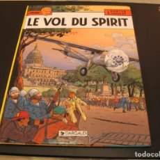 Cómics: LEFRANC LE VOL DU SPIRIT JACQUES MARTIN G. CHAILLET EN FRANCÉS. Lote 209762577