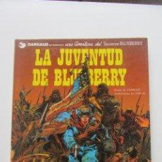 Cómics: LA JUVENTUD DE BLUEBERRY 1 TENIENTE BLUEBERRY Nº 12 CHARLIER & GIRAUD GRIJALBO CX60. Lote 209869415