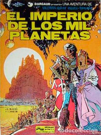 GRIJALBO. VALERIAN. EL IMPERIO DE LOS MIL PLANETAS. MEZIERES & CHRISTIN (Tebeos y Comics - Grijalbo - Valerian)